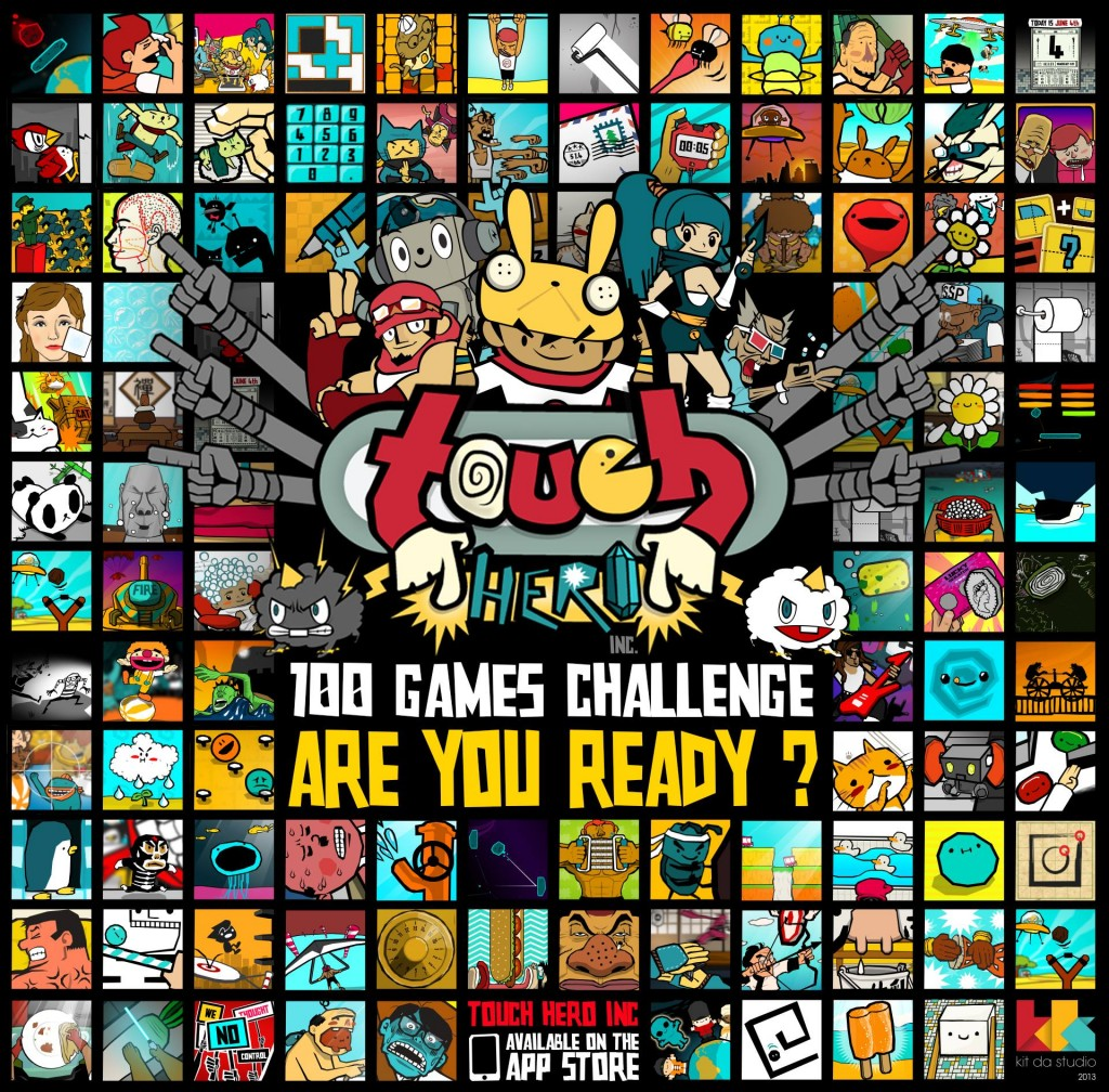 100 GAMES CHALLENGE, ARE YOU READY?